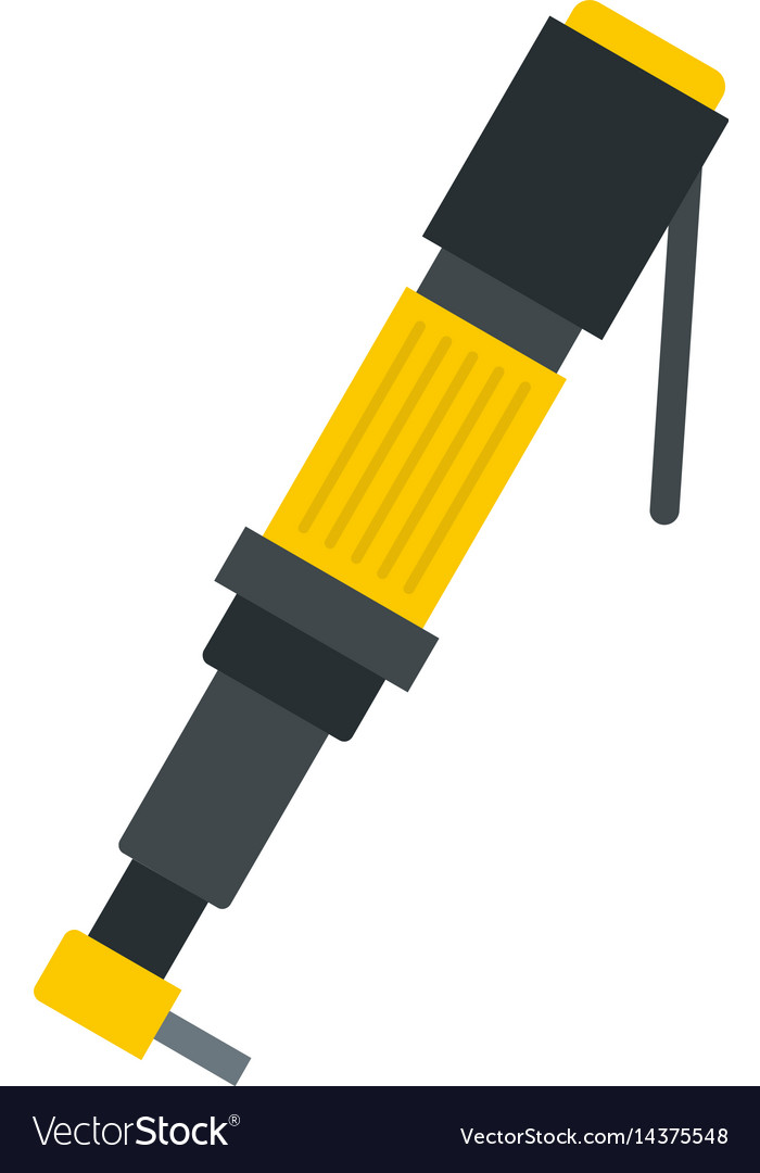 Pneumatic screwdriver icon isolated vector image