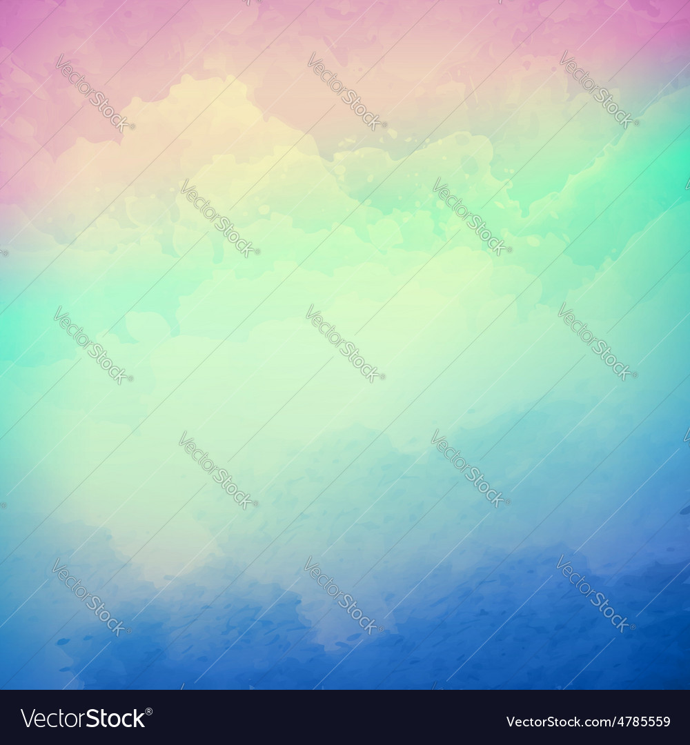 Abstract cloudy sky background vector image