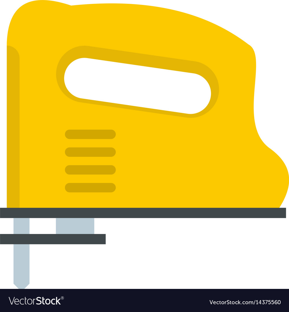Yellow pneumatic gun icon isolated vector image