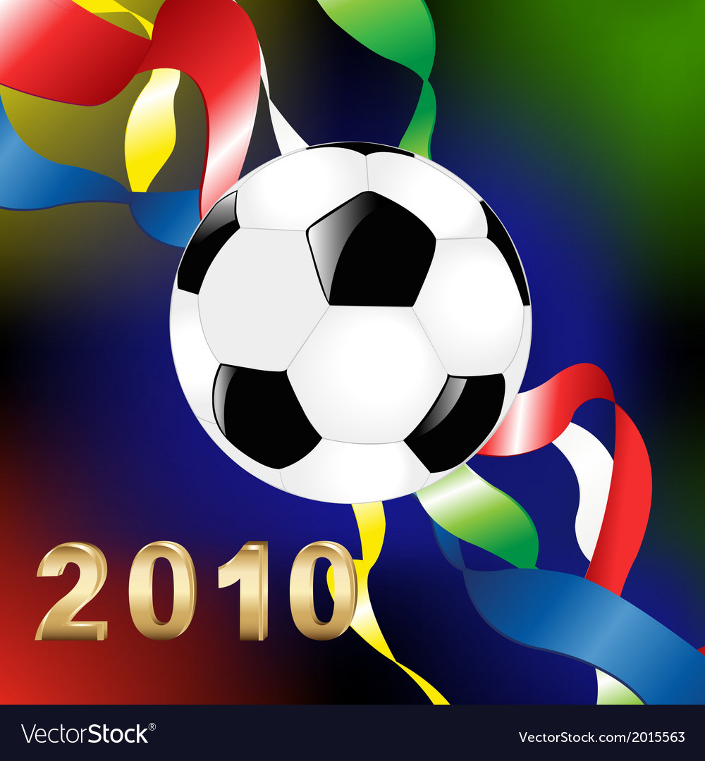 2010 World Cup vector image