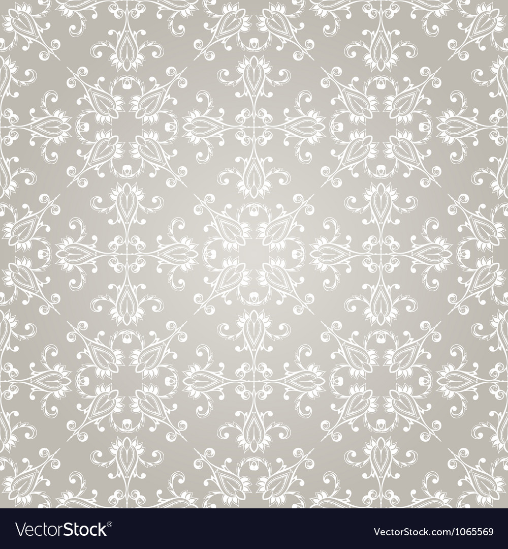 Seamless christmas retro pattern Vector Image