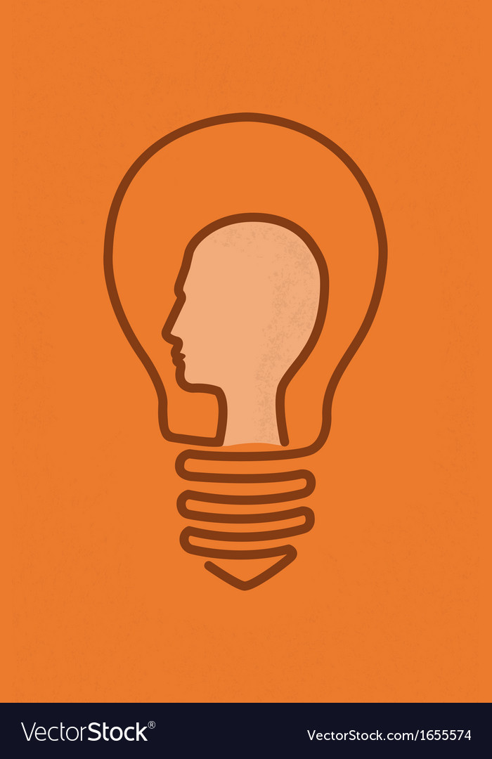 Brain4 vector image