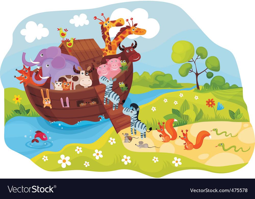 Animal ark vector image