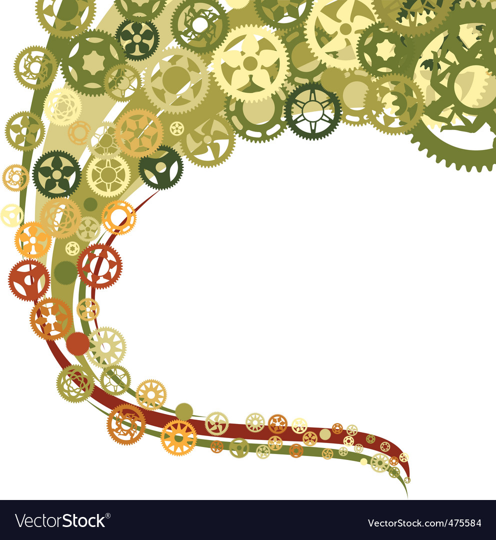 Bike wallpaper vector image