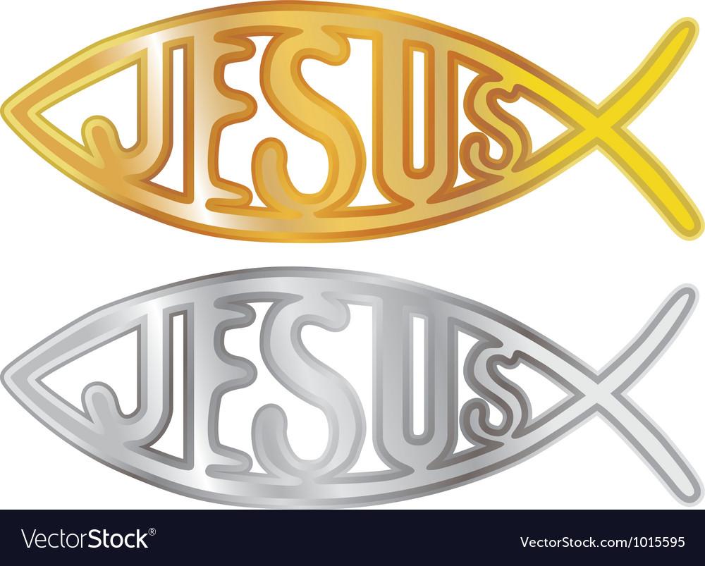 Christian fish symbol royalty free vector image christian fish symbol vector image biocorpaavc