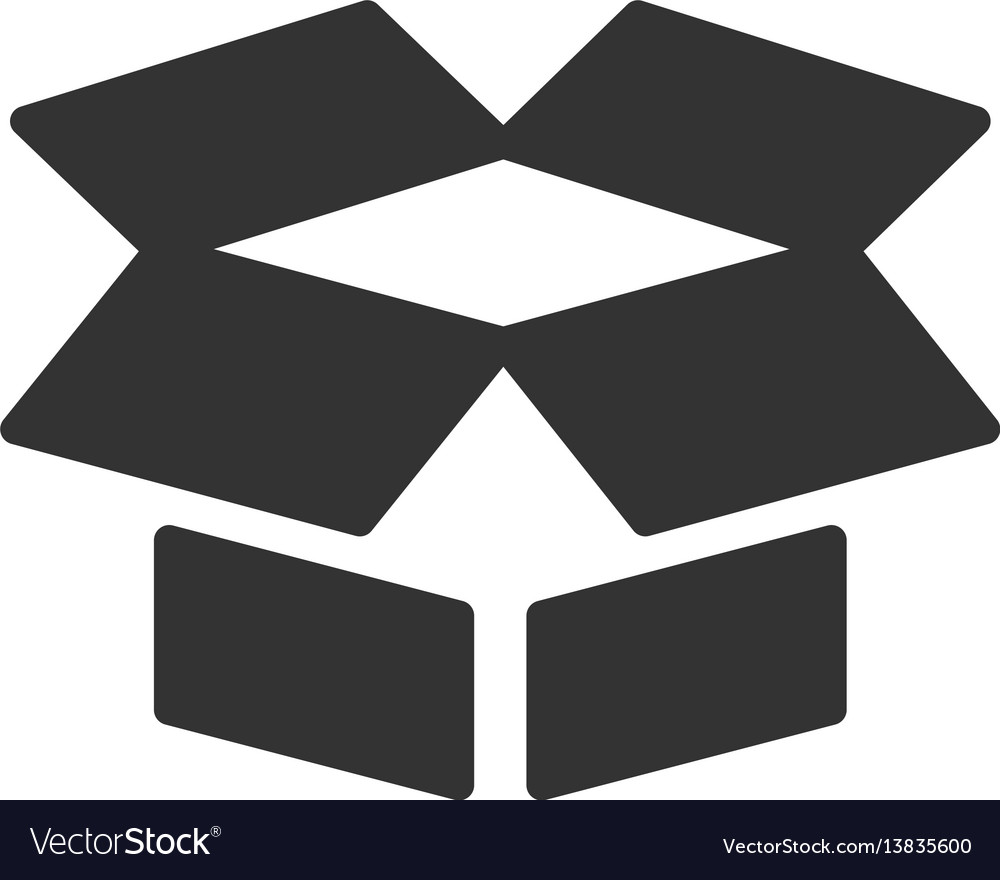 Open box flat icon royalty free vector image vectorstock open box flat icon vector image biocorpaavc Choice Image