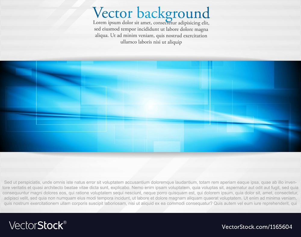 Elegant tech business design vector image