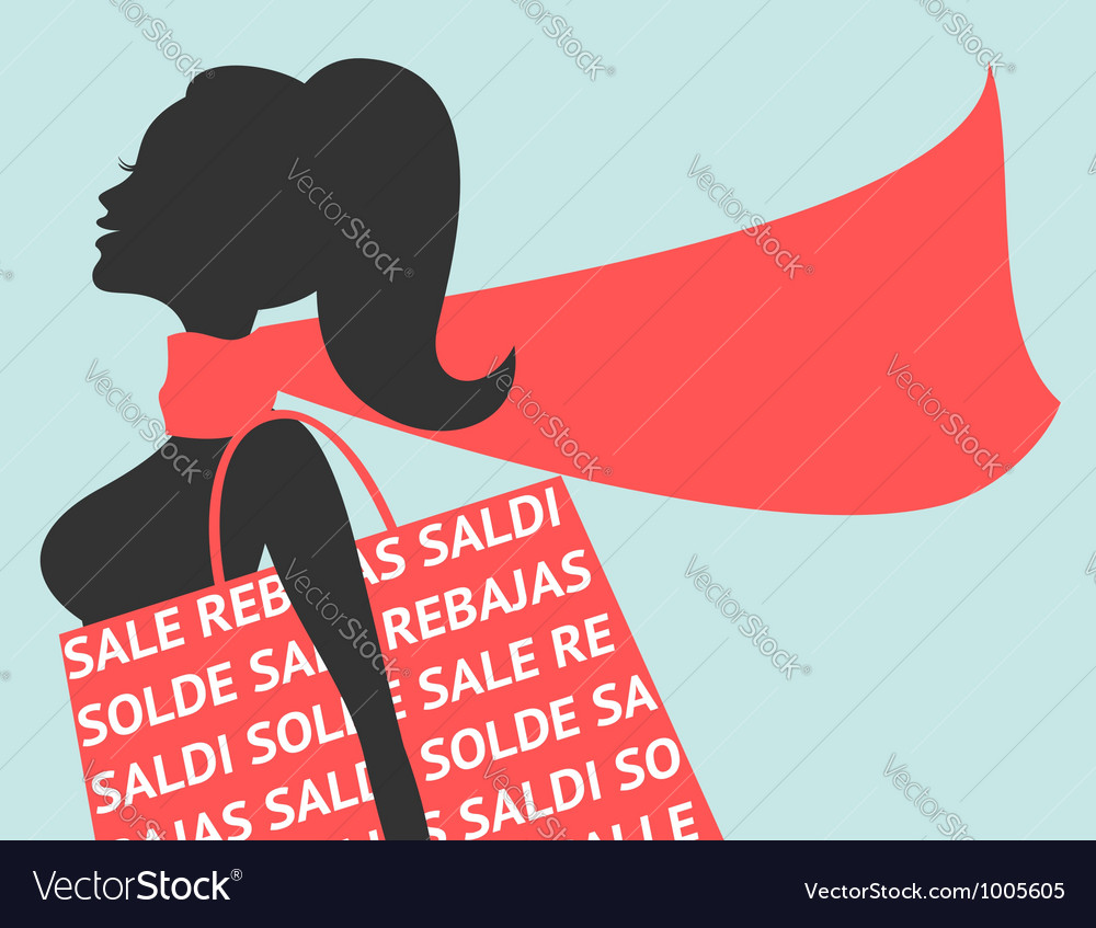 Christmas Sales vector image
