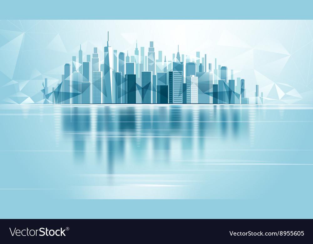 Urban Landscape City vector image