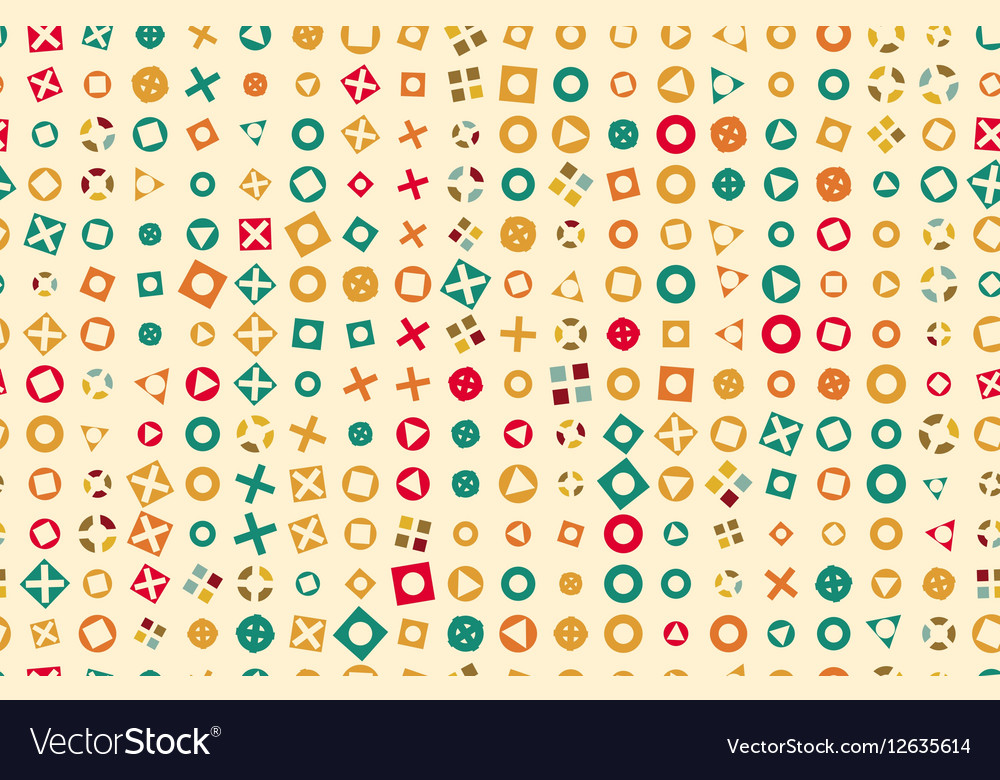 Pattern 50s Backdrop 1950s retro style vector image