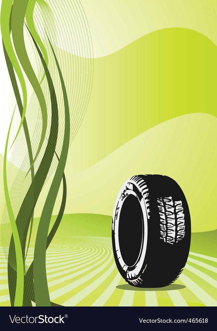 Background of car desig Vector Image