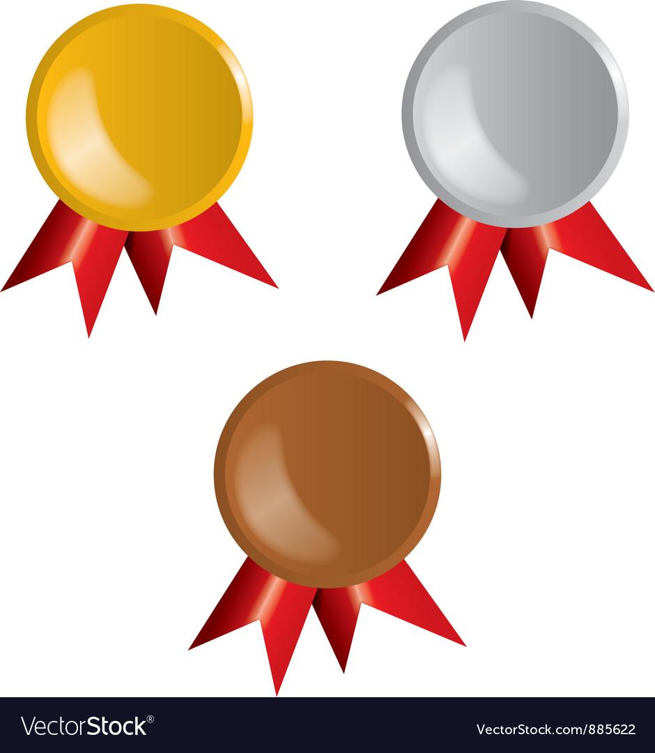 Awards Ribbons vector image