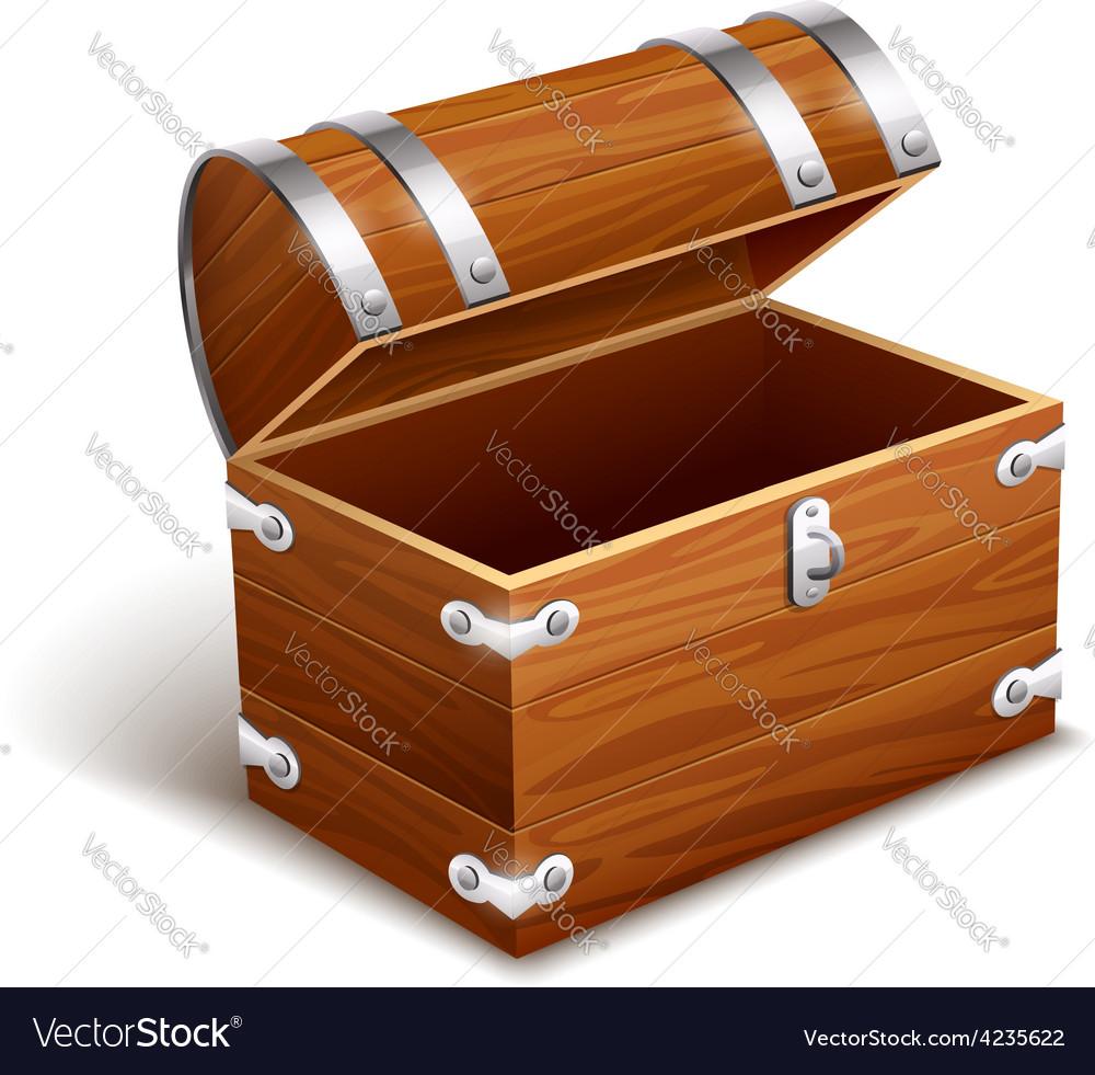 Uncategorized Vintage Wood Trunk old empty vintage wooden trunk royalty free vector image image