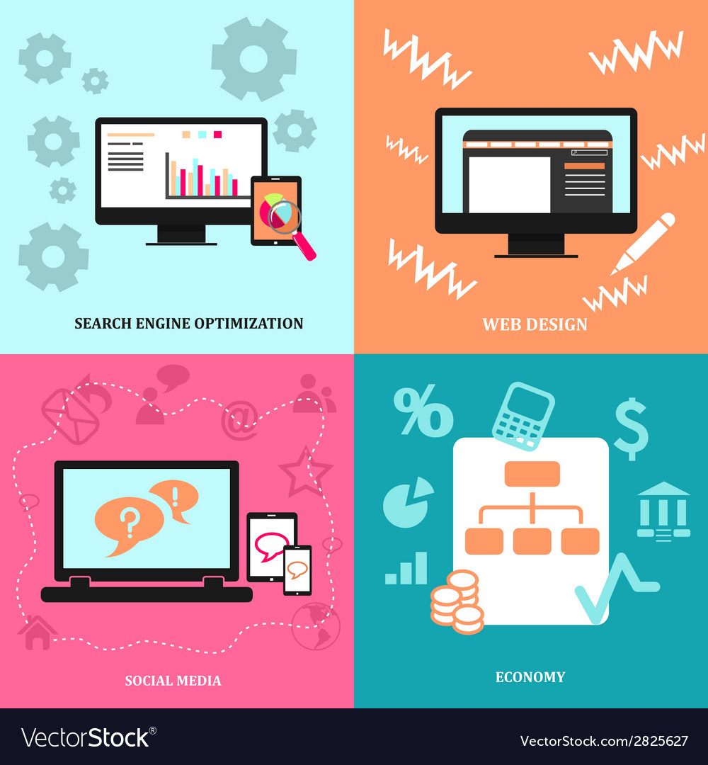 Design icon for web vector image