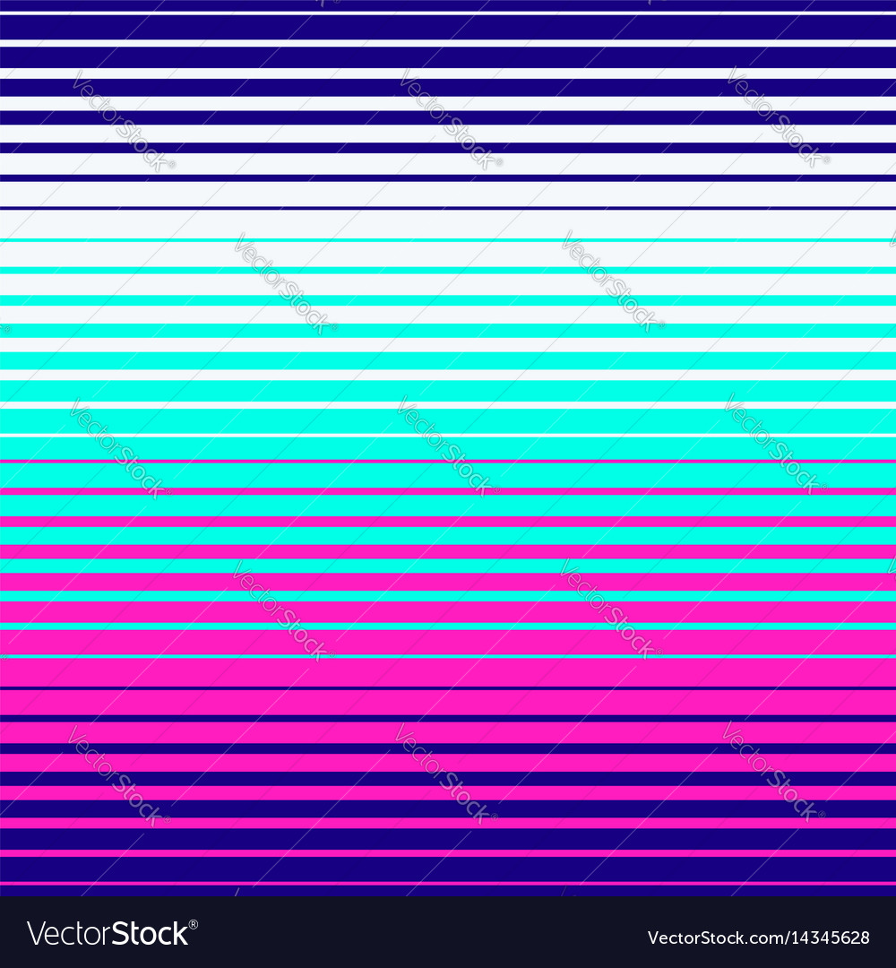 Abstract geometric pattern neon colors vector image