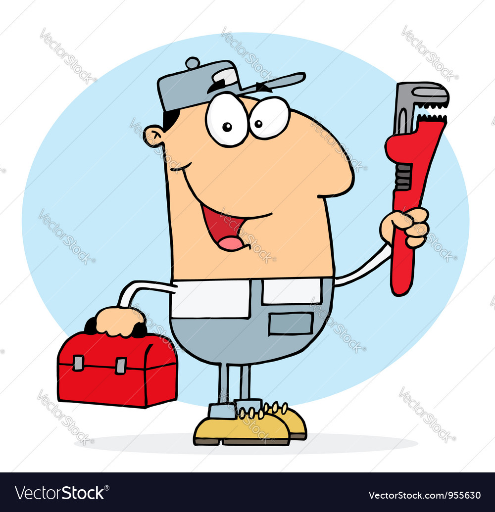 Plumber Man vector image