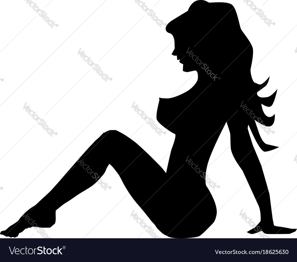 trucker girl vector image