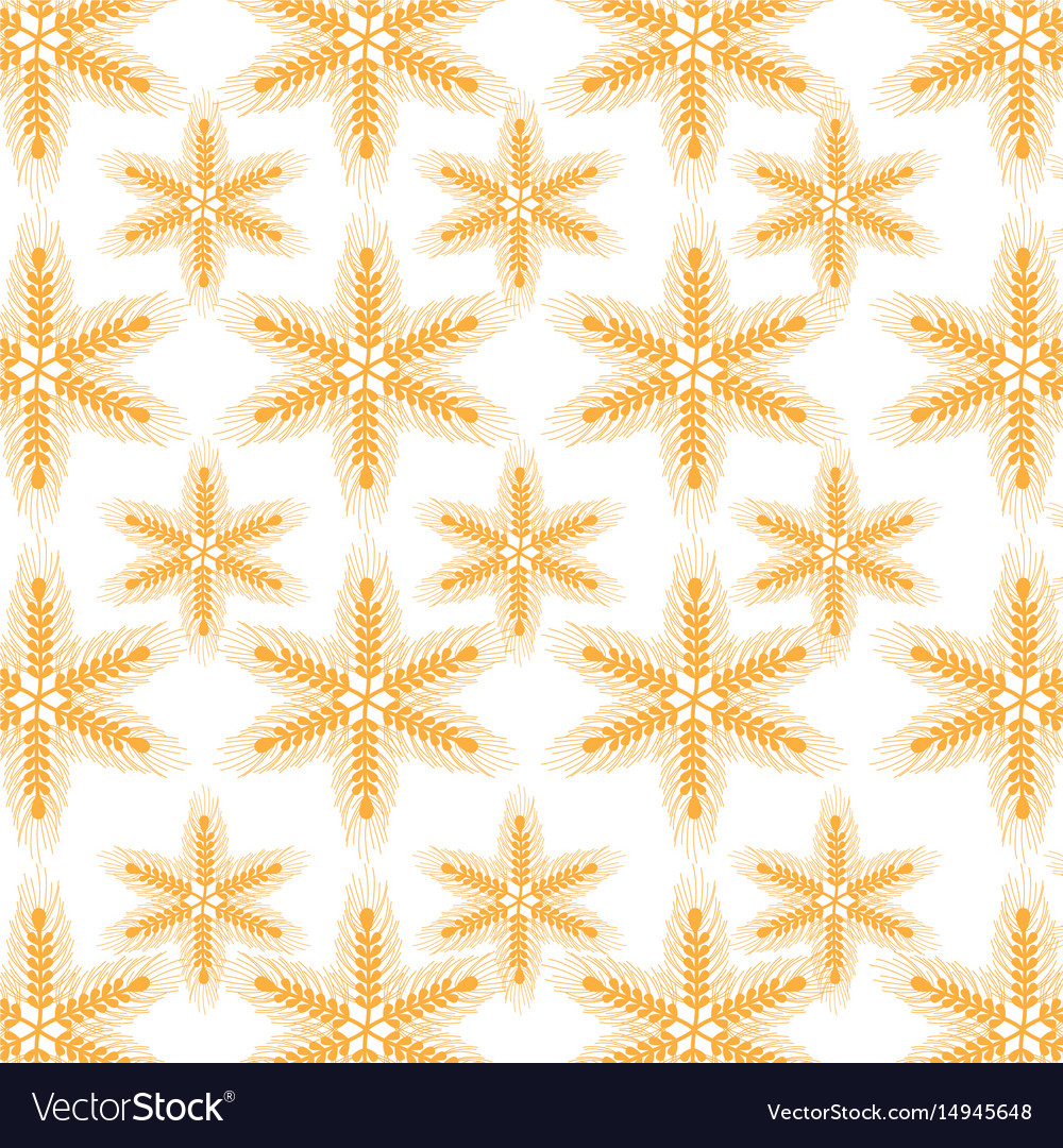Healthy wheat organ plant nutricious background vector image