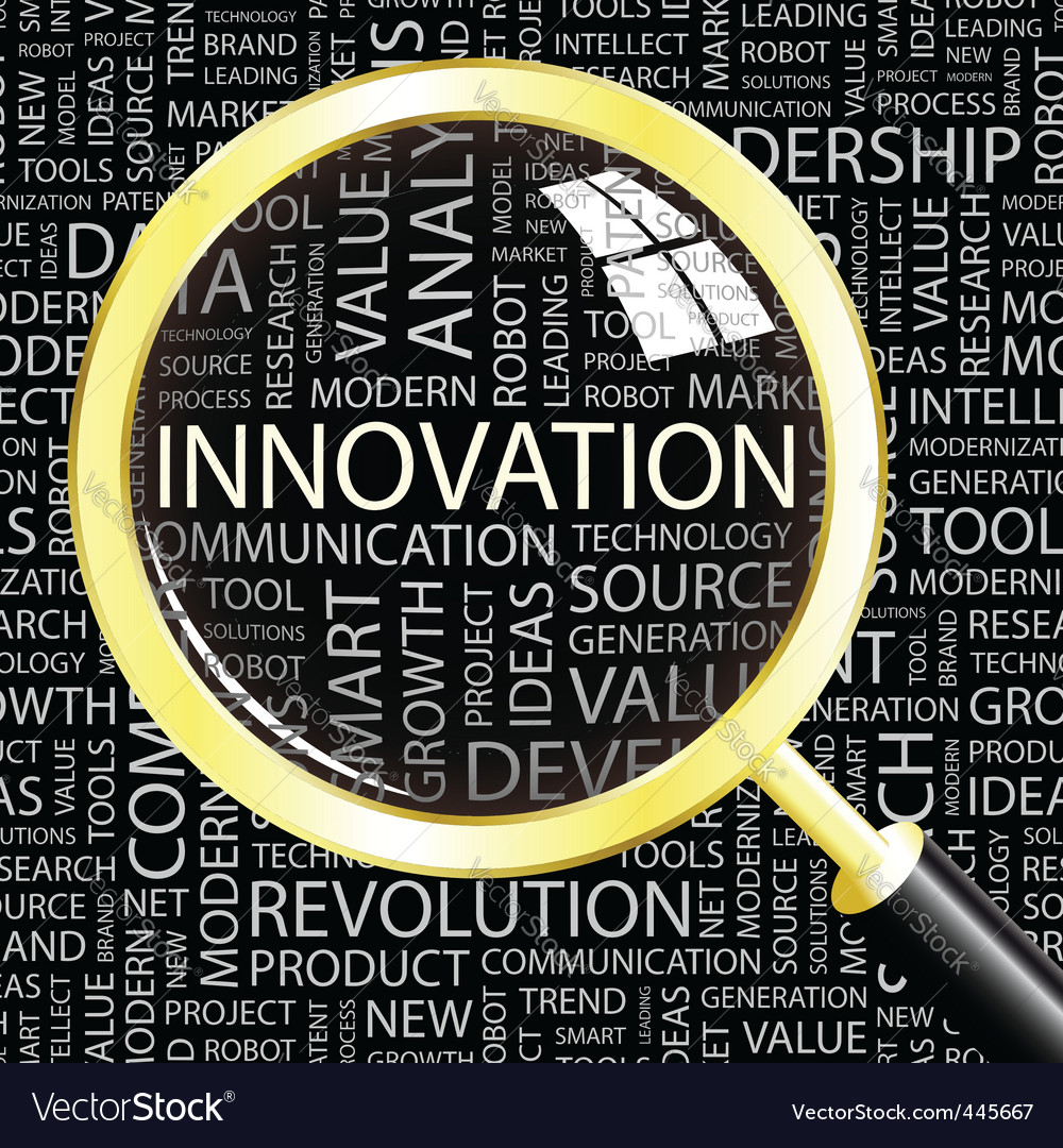 Innovation vector image