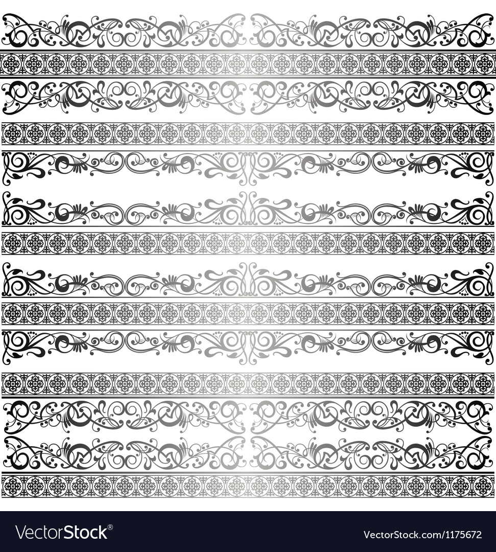 Royal ornament vector image