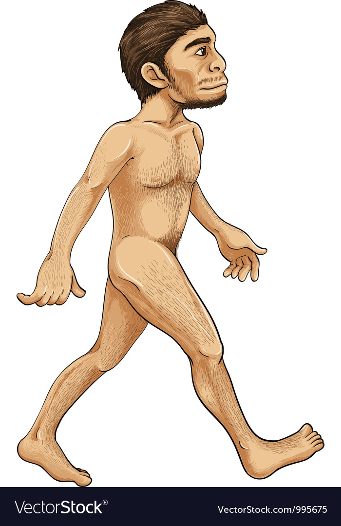 Early man vector image