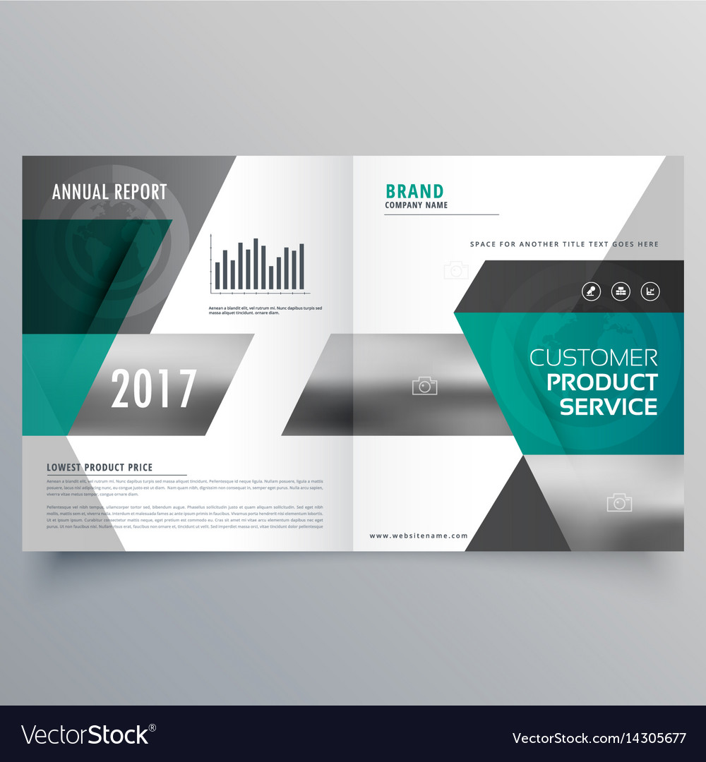 Professional business cover template design for vector image