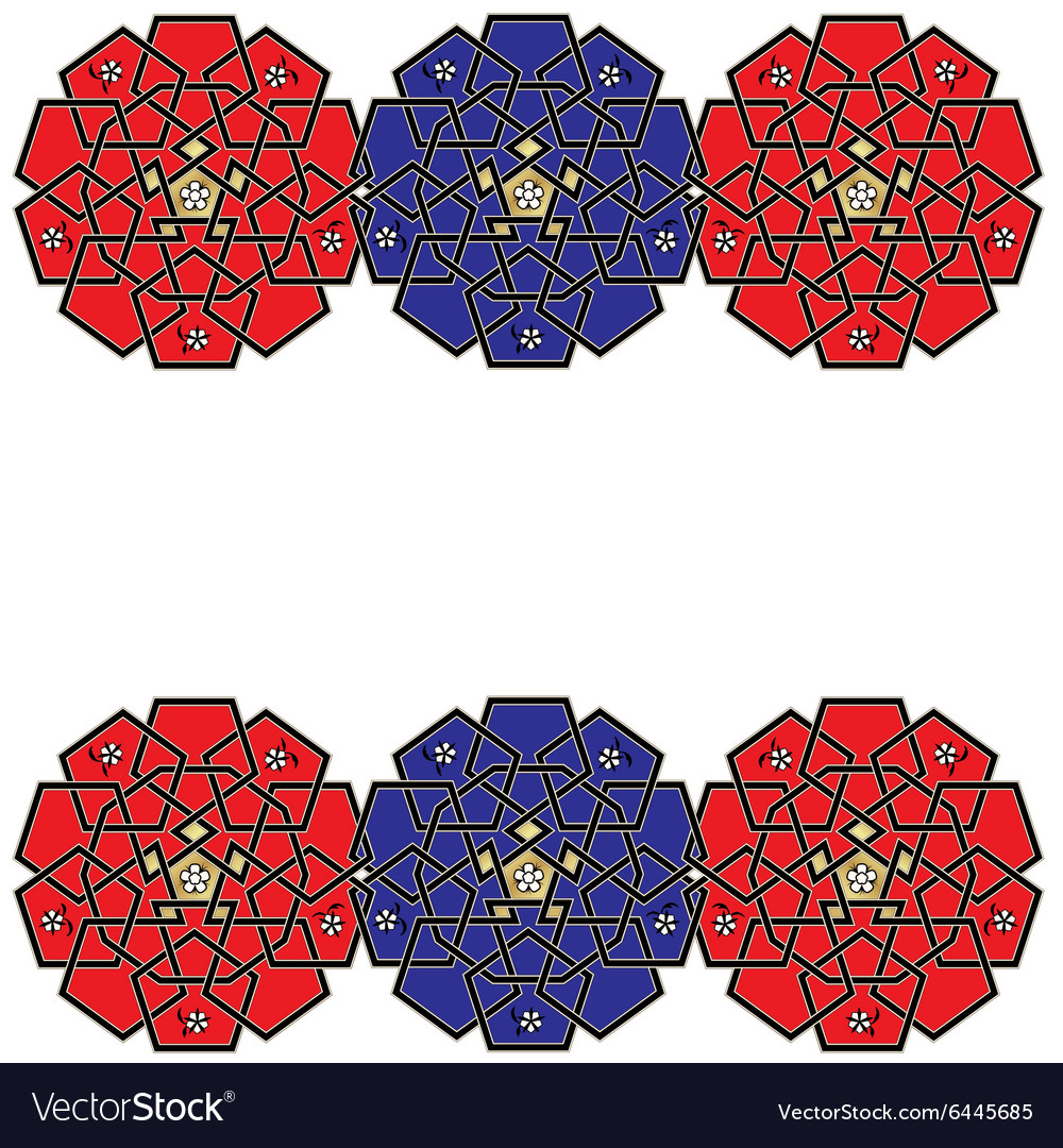Ornament Celtic knot style vector image