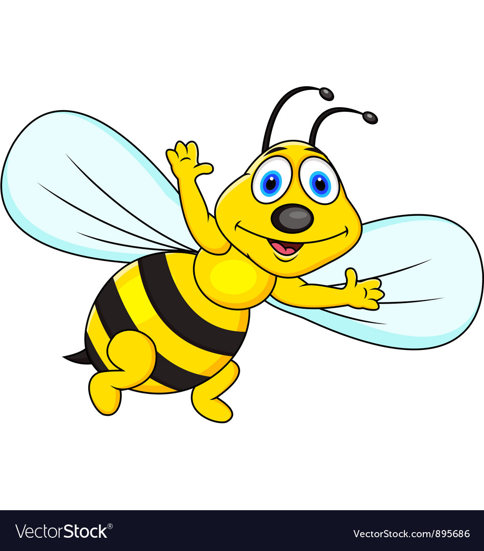 This is a graphic of Juicy Funny Bee Picture