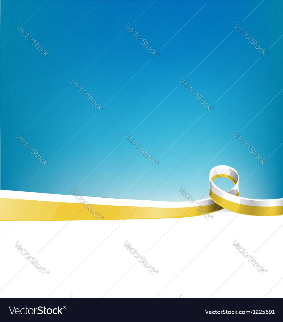 Background with vatican flag vector image