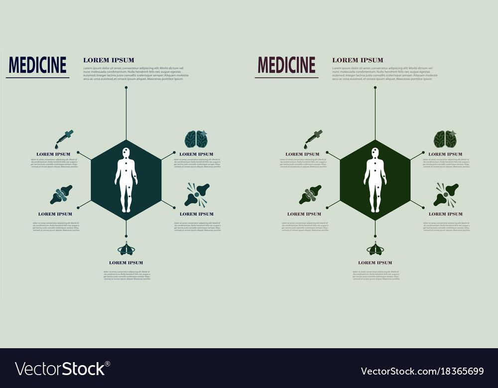 Medical infografics Dental problems