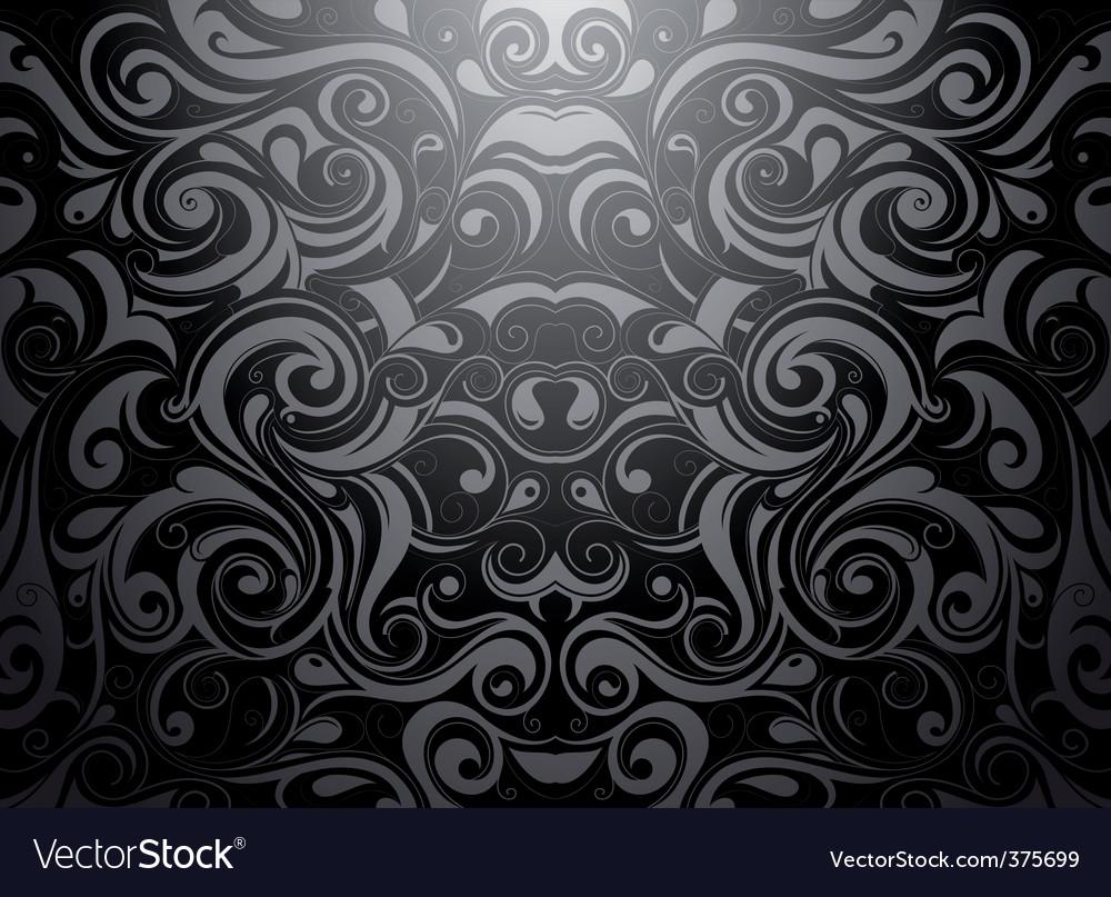Tribal wallpaper vector image