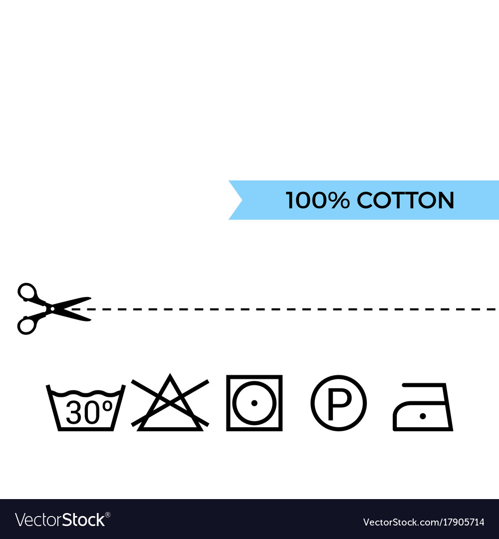 Guide to laundry care symbols royalty free vector image guide to laundry care symbols vector image biocorpaavc Gallery