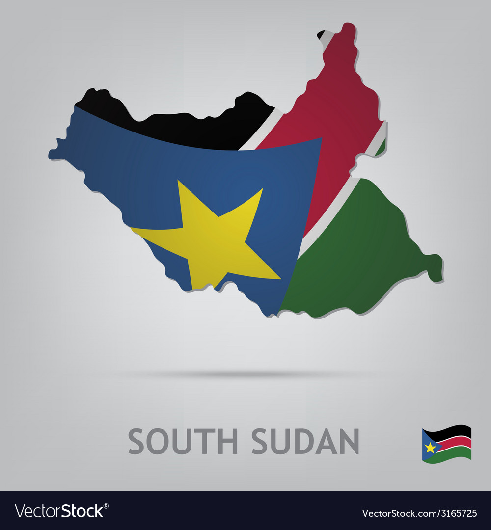 South sudan royalty free vector image vectorstock south sudan vector image gumiabroncs Gallery