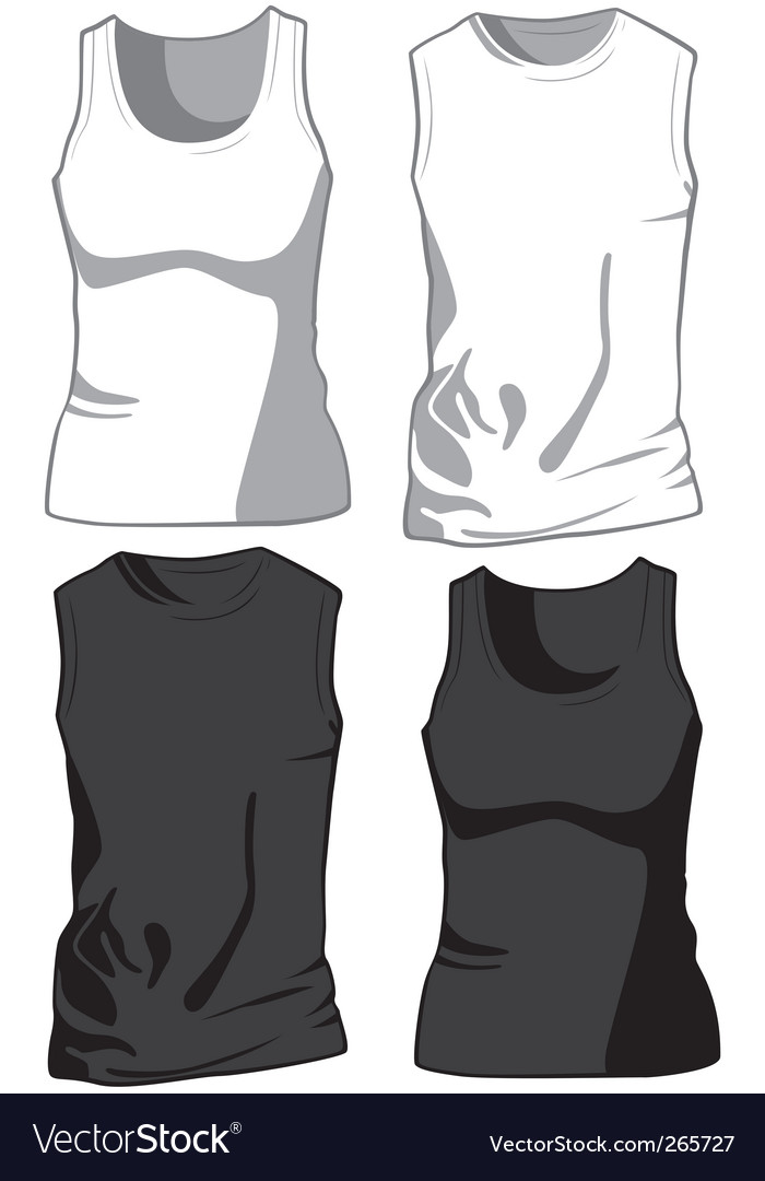 Casual shirts vector image