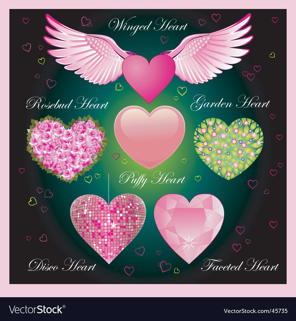 Valentine specials Vector Image