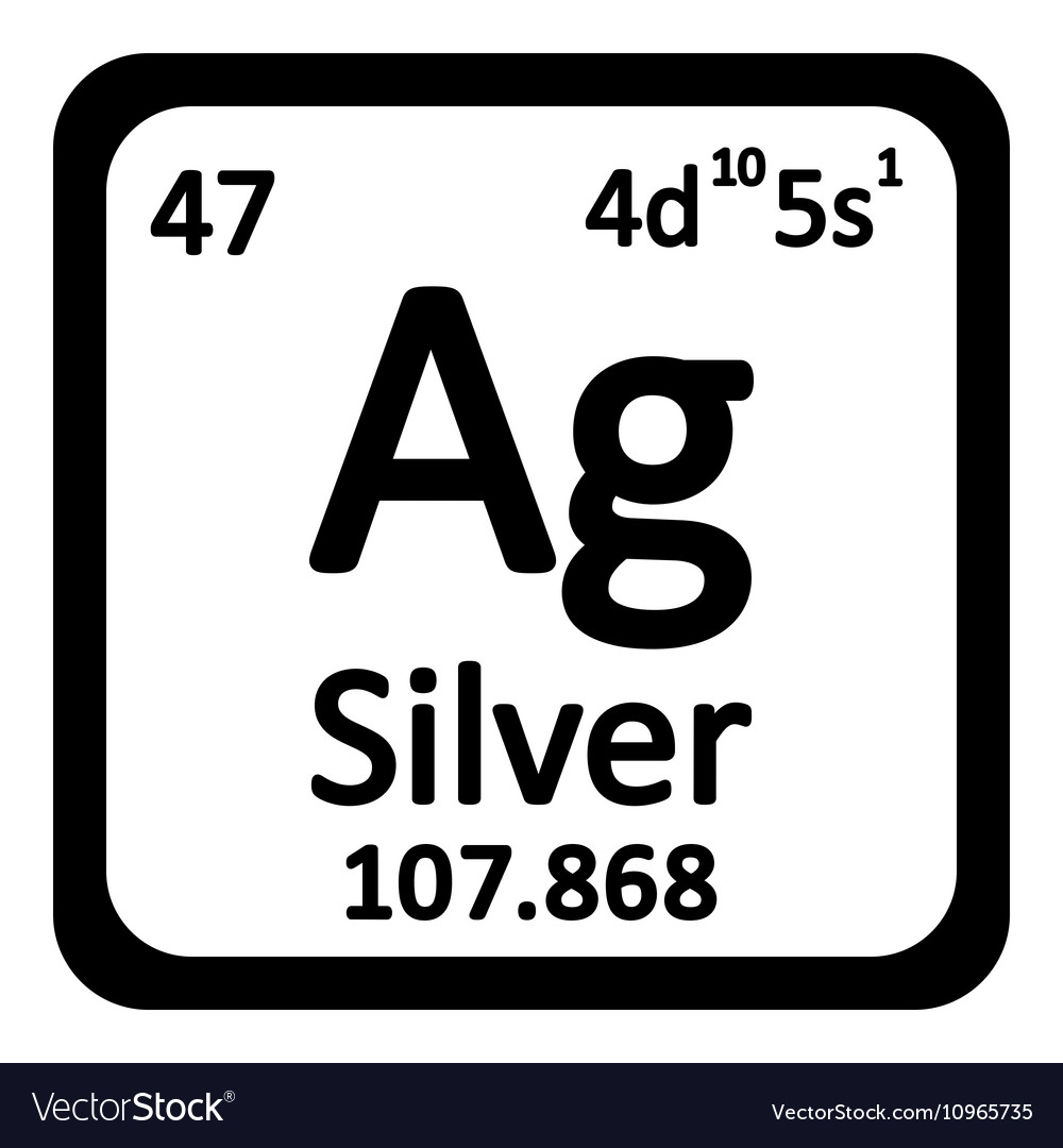 Periodic table element silver icon royalty free vector image periodic table element silver icon vector image gamestrikefo Image collections