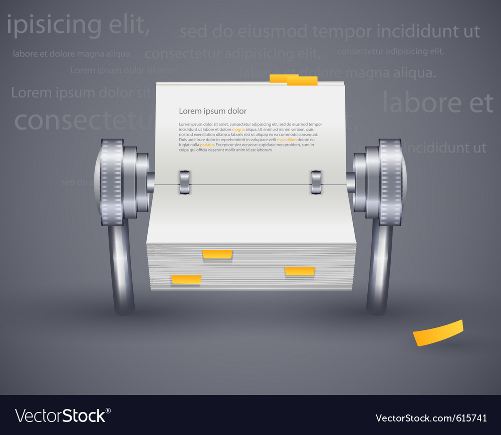 Calendar daily vector image