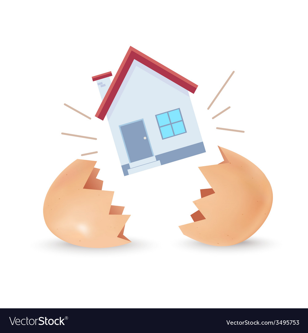 House Born vector image