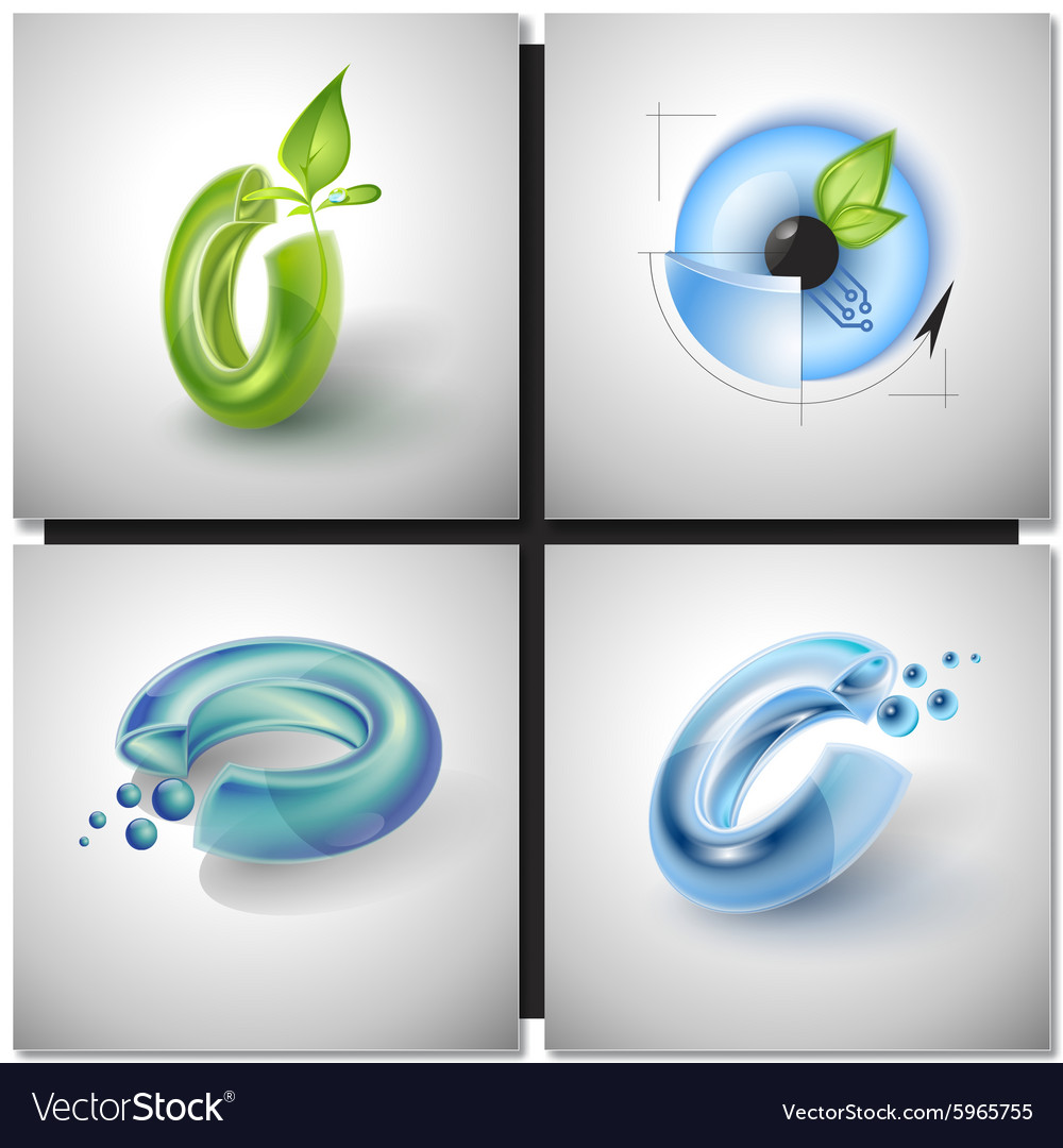 Sci-fi sign Icons vector image
