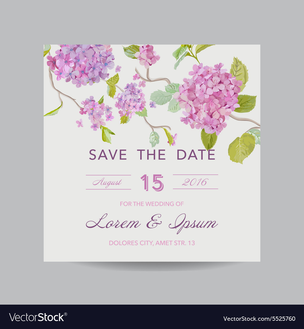 Invitation or greeting card for wedding vector image invitation or greeting card for wedding vector image stopboris Choice Image