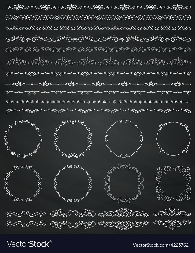 chalk borders