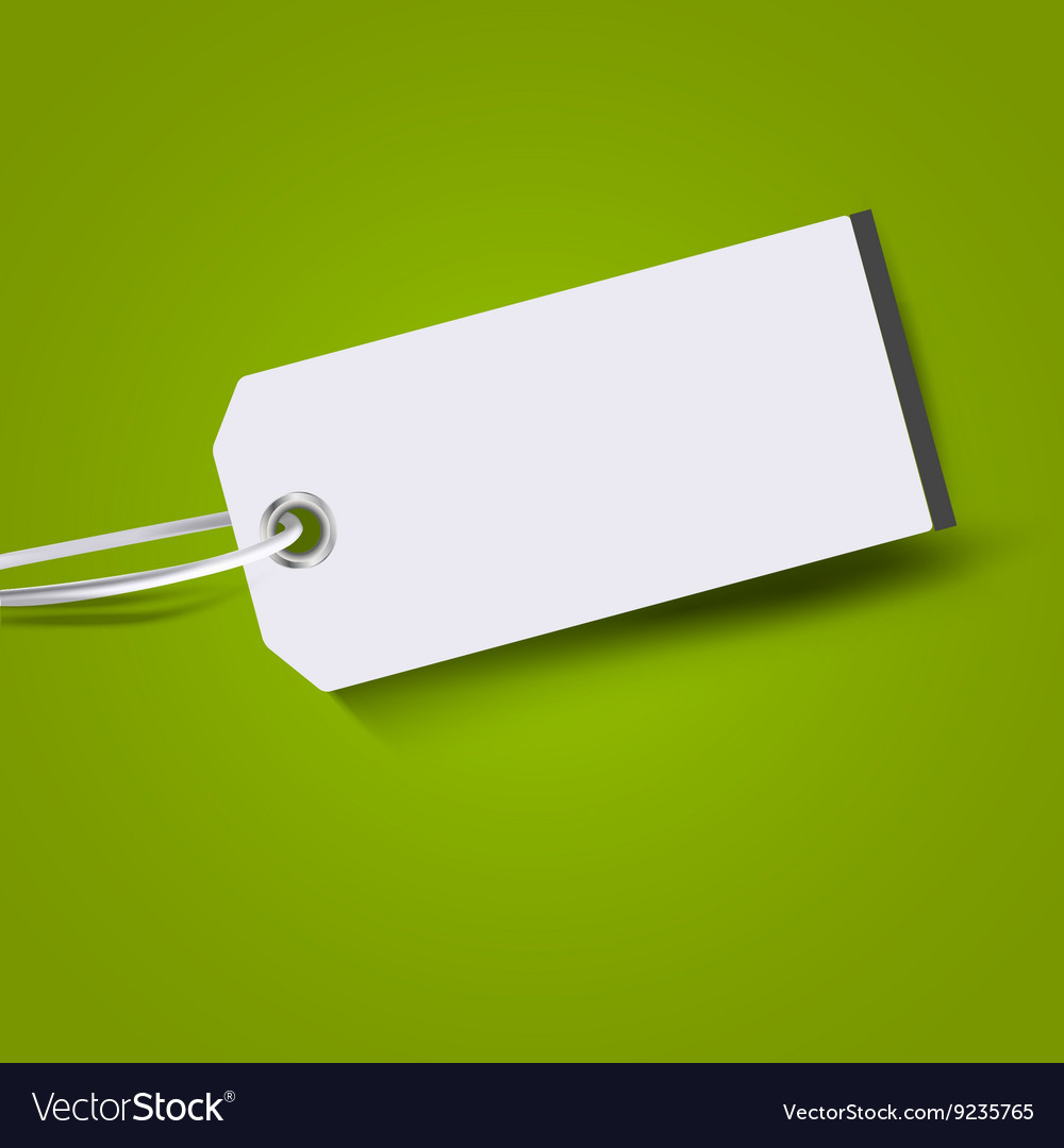 Price tag label Tag Label vector image