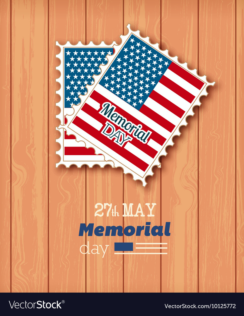 memorial day icon set