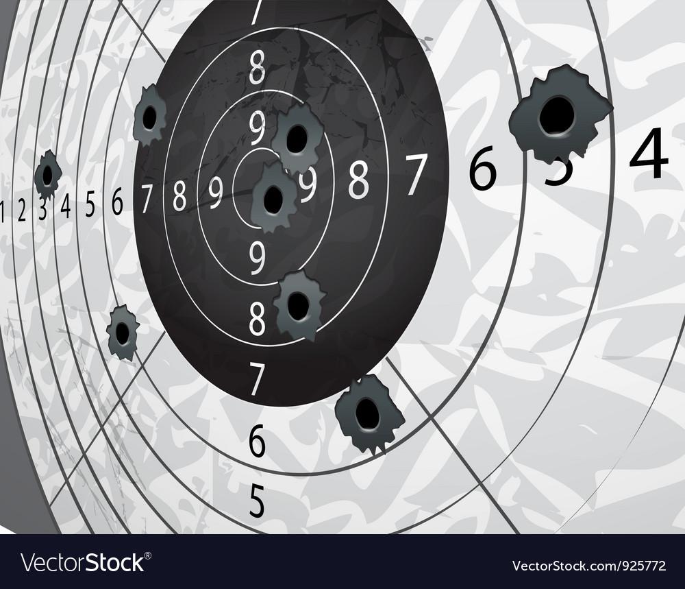 Target aim vector image