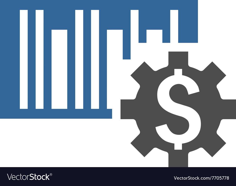 Barcode price setup flat icon royalty free vector image barcode price setup flat icon vector image buycottarizona Gallery
