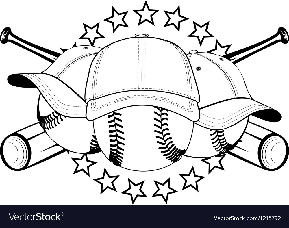 Balls in hats Vector Image