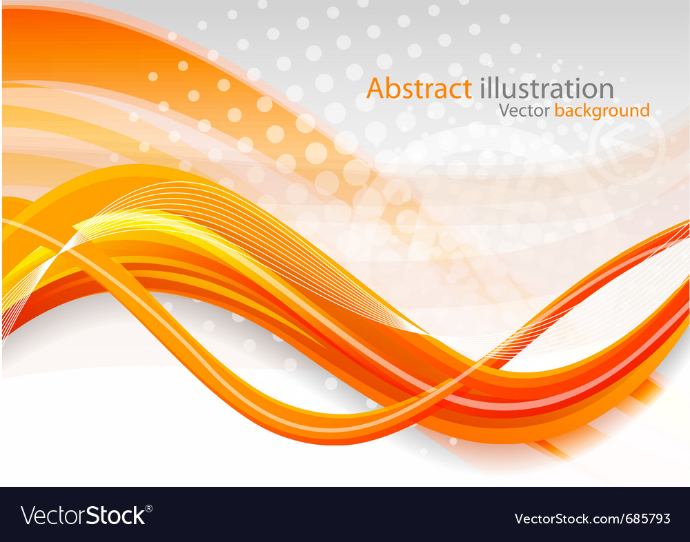 Abstract Background With Sport Icons Royalty Free Vector: Abstract Orange Background Royalty Free Vector Image