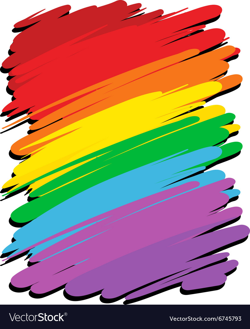background design with rainbow color royalty free vector