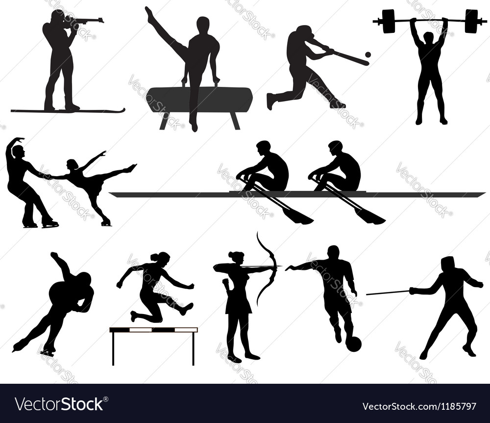 Sports vector image