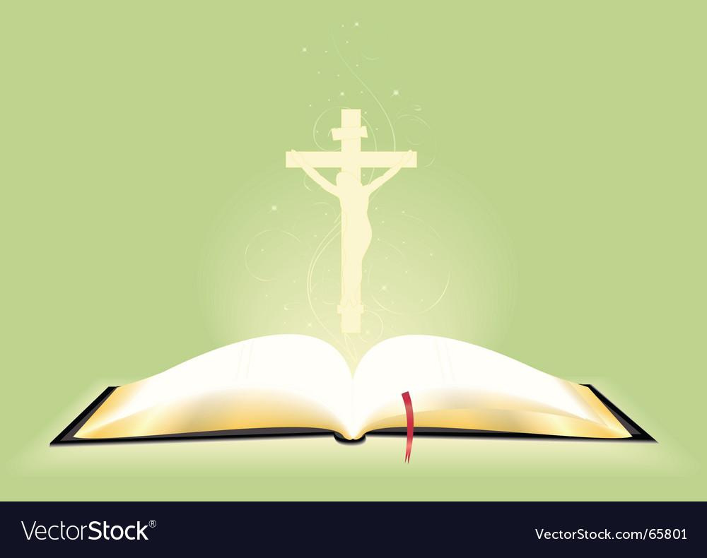Bible vector image